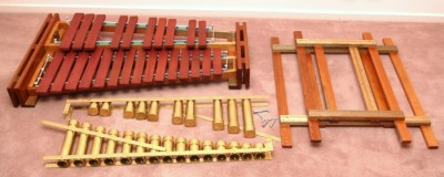 Mini-Marimba Dismantled
